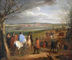 Siege of Dole | Adam Frans van der Meulen | Oil Painting