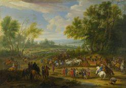 A Cavalcade | Adam Frans van der Meulen | Oil Painting