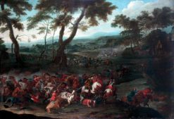 Dutch Battle Scene | Adam Frans van der Meulen | Oil Painting