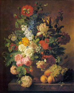 Flower Still Life | Jan Frans van Dael | Oil Painting