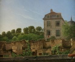 The House of the Artist | Jan Frans van Dael | Oil Painting