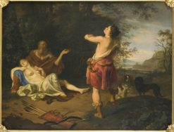 Cephalus and Procris | Ary de Vois | Oil Painting
