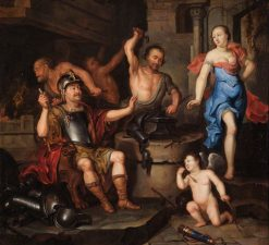 The Forge of Vulcan | Ary de Vois | Oil Painting