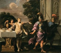 Armida and the Companions of Rinaldo | Giuseppe Passeri | Oil Painting