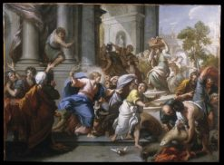 The Cleansing of the Temple | Giuseppe Passeri | Oil Painting