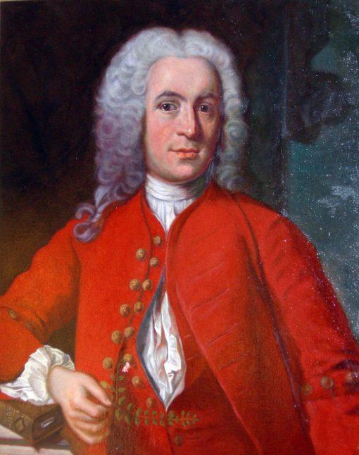Portrait of Carolus Linnaeus | Johan Henrik Scheffel | Oil Painting