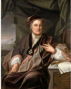 Portrait of Christopher Polhem | Johan Henrik Scheffel | Oil Painting