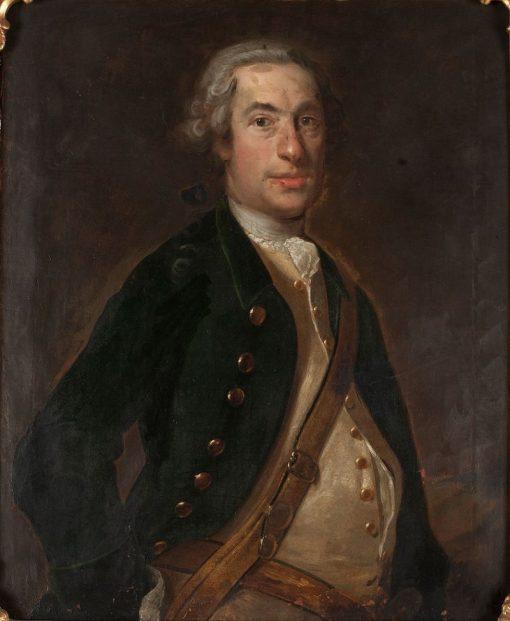 Baron Arent Gustaf Silfversparre | Johan Henrik Scheffel | Oil Painting
