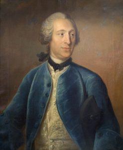 Olof von Dalin | Johan Henrik Scheffel | Oil Painting