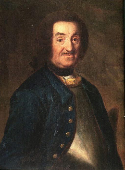 Architect Johan Eberhard Carlberg | Johan Henrik Scheffel | Oil Painting