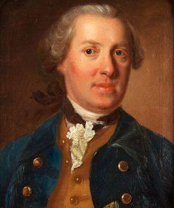 Portrait of Swedish Nobleman Erik Adolf Printzensköld | Johan Henrik Scheffel | Oil Painting