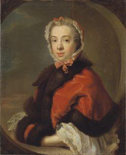 Maria Juliana Jennings | Johan Henrik Scheffel | Oil Painting