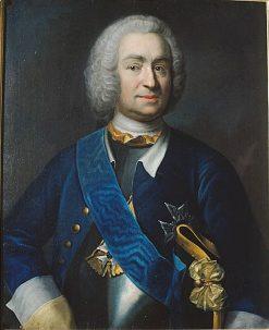 Mattias Alexander von Ungern-Sternberg | Johan Henrik Scheffel | Oil Painting