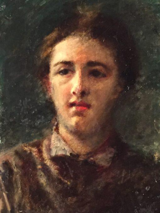 Portrait of an Elegant Woman | Daniele Ranzoni | Oil Painting
