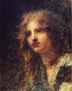 Portrait of Marta Bussi Rosnati | Daniele Ranzoni | Oil Painting