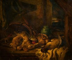 Still Life with Dead Rabbits | William Duffield | Oil Painting