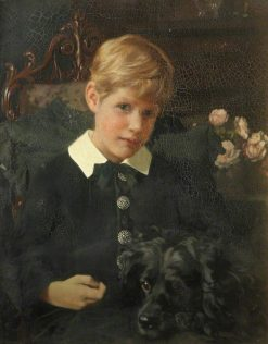 A Boy | Arthur Dampier May | Oil Painting