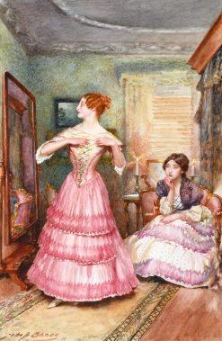 Designs on Mrs. Merdle   John Henry Frederick Bacon   Oil Painting