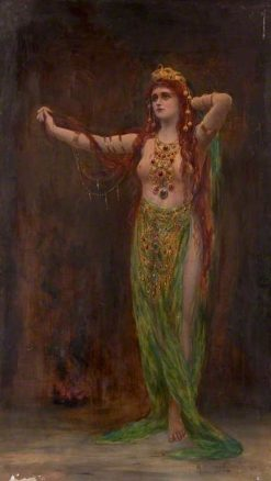Circe resplendens | Margaret Murray Cookesley | Oil Painting