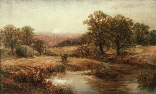 Harvest Moon | Cecil Gordon Lawson | Oil Painting