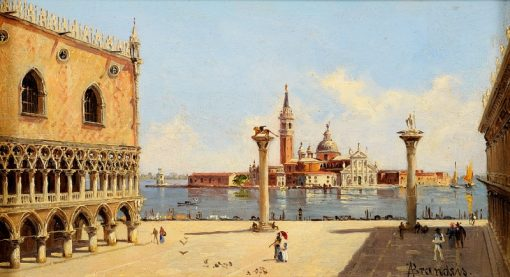 The Doges Palace | Antonietta Brandeis | Oil Painting