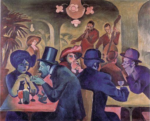 Kaverna   Bohumil Kubišta   Oil Painting