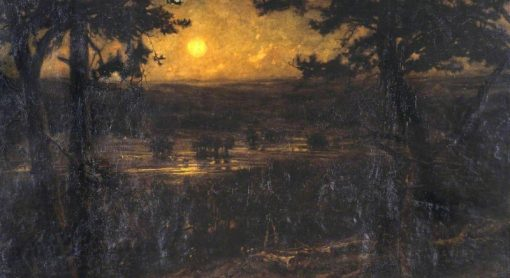 The August Moon | Cecil Gordon Lawson | Oil Painting