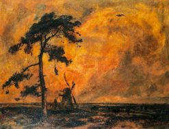 The Old Mill -  Sunset | Cecil Gordon Lawson | Oil Painting
