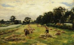 The Hayfield   Cecil Gordon Lawson   Oil Painting