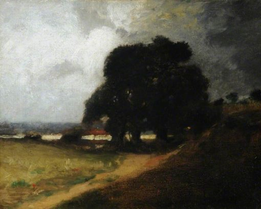 The Storm Cloud | Cecil Gordon Lawson | Oil Painting