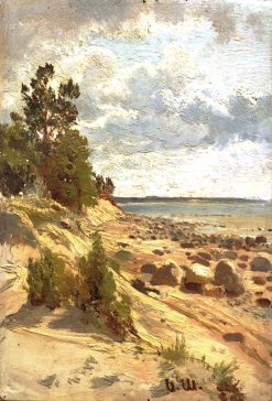 The Seashore | Ivan Ivanovich Shishkin | Oil Painting