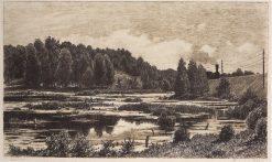 The Swamp | Ivan Ivanovich Shishkin | Oil Painting
