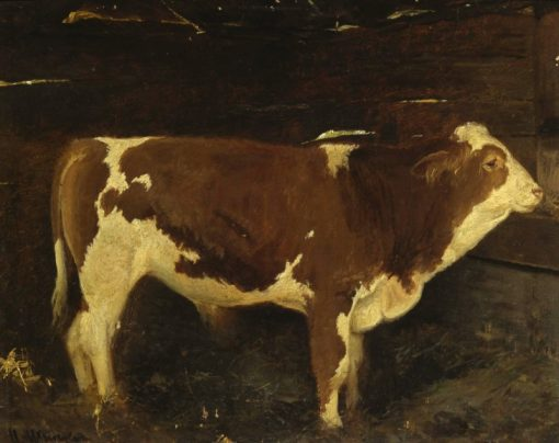 A Bull (study) | Ivan Ivanovich Shishkin | Oil Painting