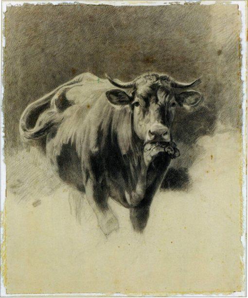 A Bull | Ivan Ivanovich Shishkin | Oil Painting