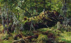 Branches | Ivan Ivanovich Shishkin | Oil Painting