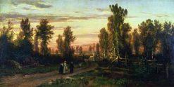 Evening | Ivan Ivanovich Shishkin | Oil Painting