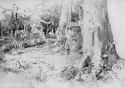 Fallen Trees | Ivan Ivanovich Shishkin | Oil Painting