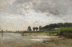 Fishing Boat | Carl Skanberg | Oil Painting