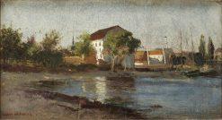Dutch coastal landscape | Carl Skanberg | Oil Painting