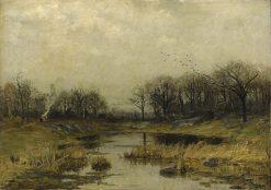 Autumn Landscape | Carl Skanberg | Oil Painting