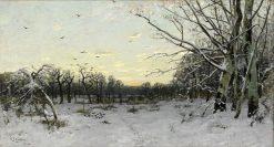 Winter Landscape | Carl Skanberg | Oil Painting