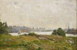 View of Stockholm | Carl Skanberg | Oil Painting