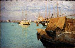 Laguna a San Giorgio | Guglielmo Ciardi | Oil Painting