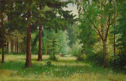 Children in the Woods | Ivan Ivanovich Shishkin | Oil Painting