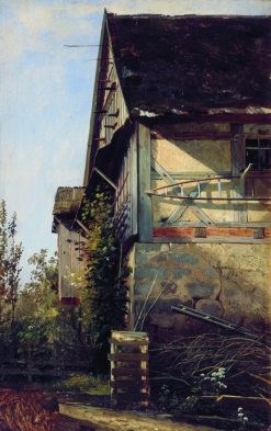 A House in Dusseldorf | Ivan Ivanovich Shishkin | Oil Painting