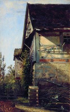 A House in Dusseldorf | Ivan Ivanovich Shishkin | Oil Painting