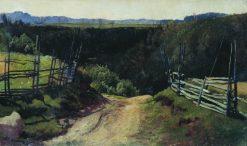A Road | Ivan Ivanovich Shishkin | Oil Painting