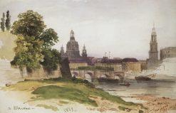 Dresden | Ivan Ivanovich Shishkin | Oil Painting