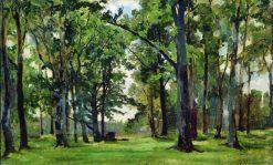 Oaks   Ivan Ivanovich Shishkin   Oil Painting