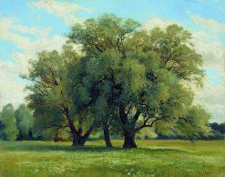 Oaks | Ivan Ivanovich Shishkin | Oil Painting